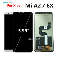 Tested Good Quality For Xiaomi Mi A2 lcd MIA2 Display Touch Screen Digitizer Assembly Replacement Parts for Xiaomi 6X LCD цена и фото