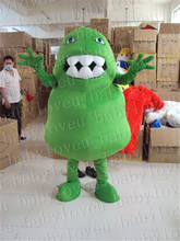 green germ mascot costume halloween costumes party costume dinosaurs fancy dress christmas gift