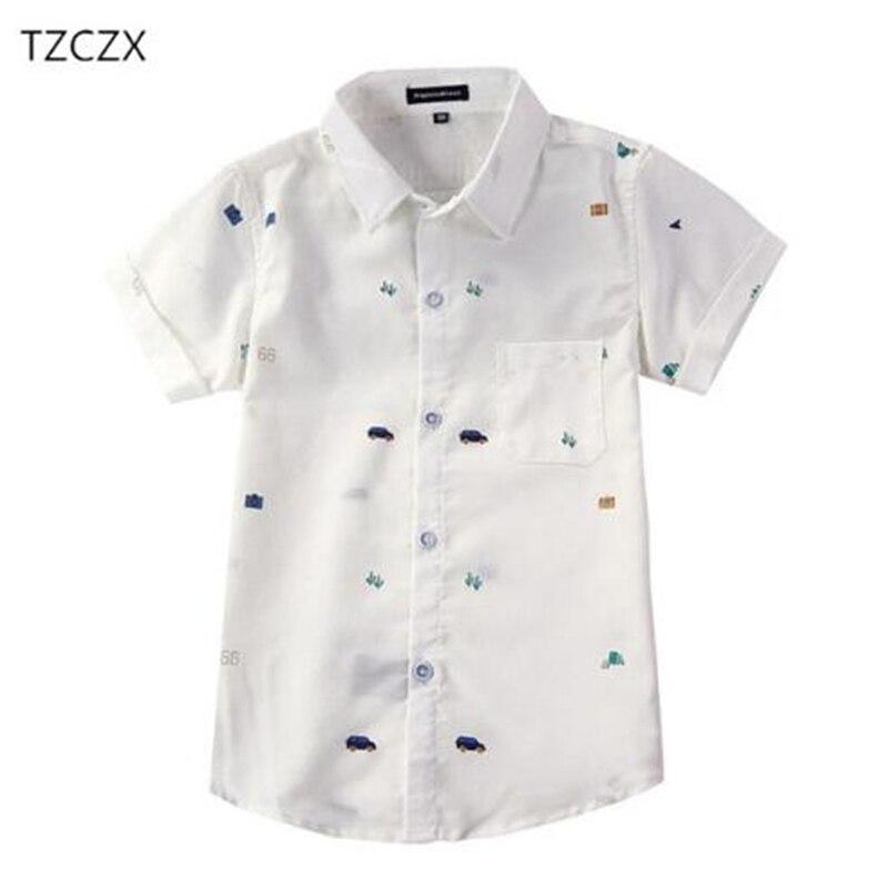 TZCZX-2520 verano marca moda niños algodón niños corta Camisetas ropa 505f9a8c4ed43