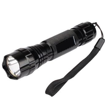 Highlight LED latarka latarka 980lm 3-Mode białe światło T6 LED latarka światło Camping latarka WF-501B 18650 latarka tanie i dobre opinie ZAGTUR stop aluminium LATARKI