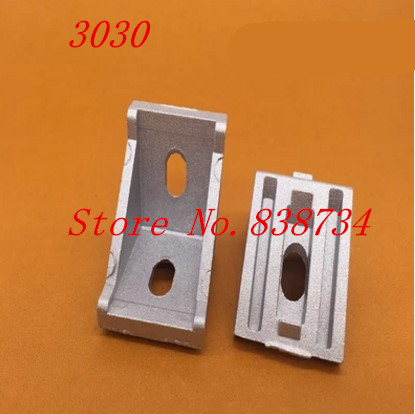 20pcs 3030 corner fitting angle aluminum 28 x 35 connector bracket fastener match 3030 industrial aluminum profile 20pcs 4040 corner fitting angle aluminum 40 x 40 x 35mm connector bracket fastener match 4040 industrial aluminum profile