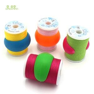 Image 5 - Chainho,12 ชิ้น/ถุง,ผสมสี,ซิลิโคนขนาดเล็กซิลิโคนยางBobbinคลิป,ใช้สำหรับAnti หัวFall off,SPOOLคลิป,DIYเย็บเครื่องมือ