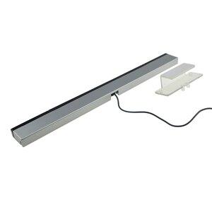 Image 5 - Przewodowy czujnik promieniowania podczerwieni dla Nintend Wii odbiornik sygnału podczerwieni czujnik fali Bar bezprzewodowy pilot konsola do gier