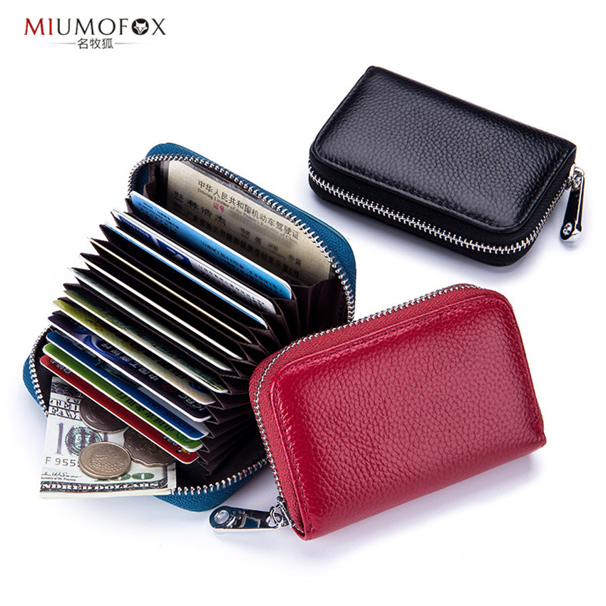 RFID Credit Card & ID Holders Business Card Holder ID Badge Holder Men Women Case Cover Coin Wallet Box Cartao De Visita W241