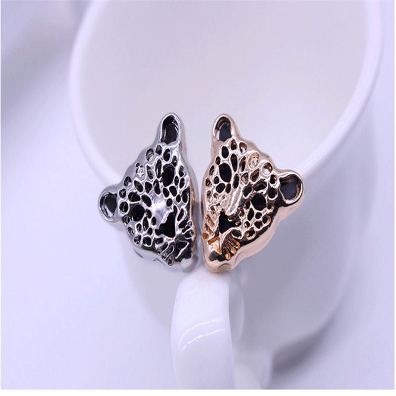 New Fashion Clother Leopard Head Men Brooches Personality Animals Brooch Pins for Women Jewelry Gold/Silver Plated Collar Pins