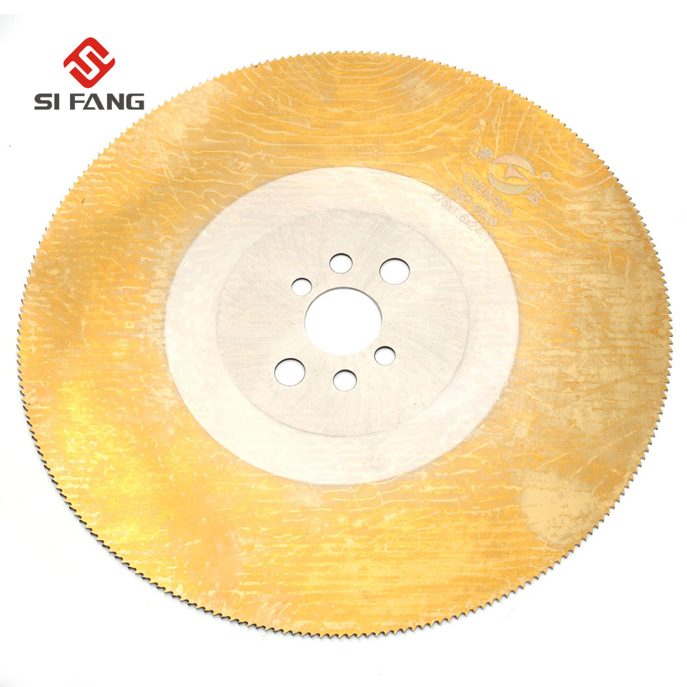 10 HSS High Speed Steel Circular Saw Blade Cutting Disc For Stainless Steel metal 250x32x1 2