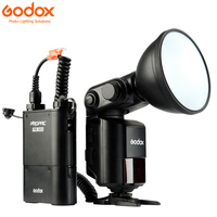 Godox Witstro AD 360/AD360 II AD360II N ttl 2,4 г Беспроводной Открытый Вспышка Speedlite + PB960 Батарея Pack для цифровых зеркальных камер Nikon