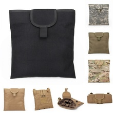 CQC Military Accessories Airsoft Tactical Gear Revista plegable grande M4 Dump Pouch Recovery Mag Pouch