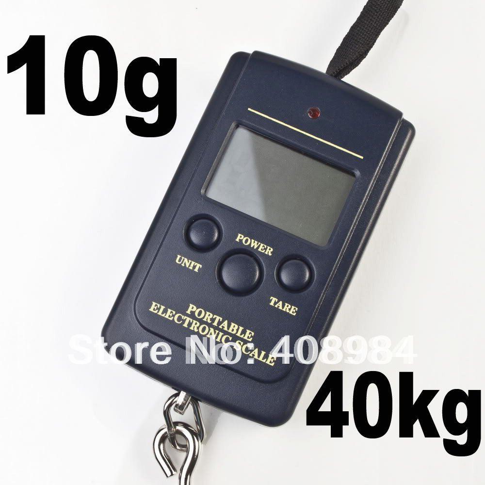 Buy 40kg digital scale 40kg 10g for Best digital fish scale