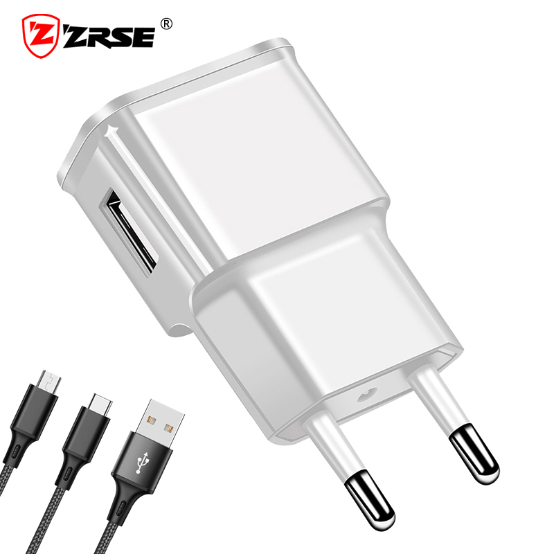 ZRSE USB Charger Universal Travel Wall Mobile Phone Power