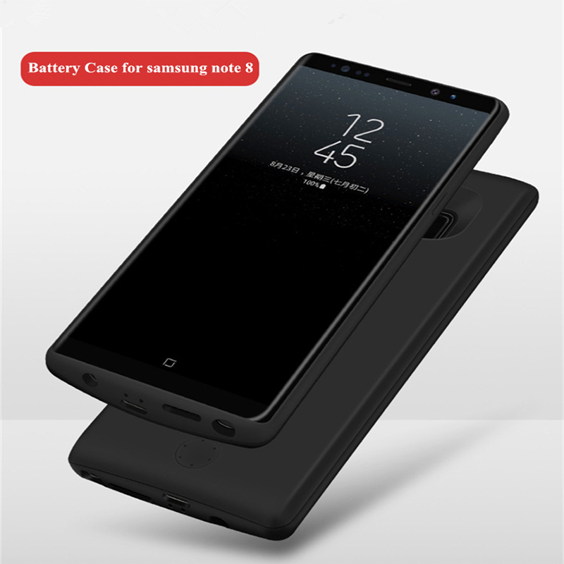 2A Fast charge For Samsung Galaxy Note 8 Battery Case 6500mah External Charger Cover Power Bank For Samsung Note 8 Battery Case