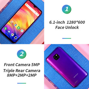 Image 3 - Ulefone Note 7 Smartphone 6.1 inch 19:9 Waterdrop Android 8.1 1GB+16GB Quad Core 3500mAh Face Unlock 3 Rear Camera Mobile Phone