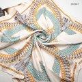 [15% OFF] 4 Colors 90x90cm 202026 2017 Newest Fashion Square Silk Scarf, Ladies' Silk Scarf, Heavy Silk Twill Square Scarf