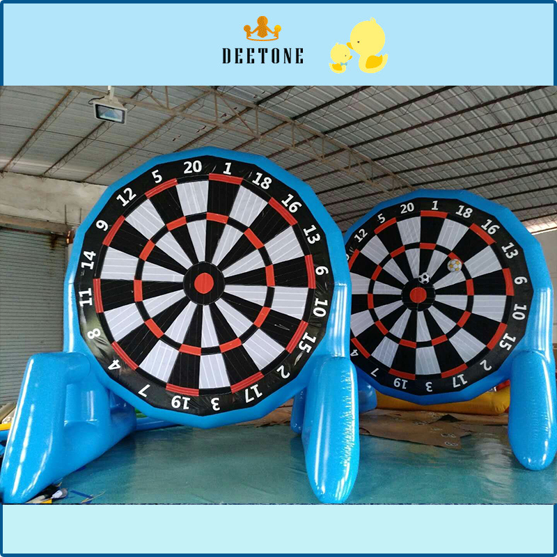 4 meters diameter PVC closed air football target outdoor fun sports football darts game