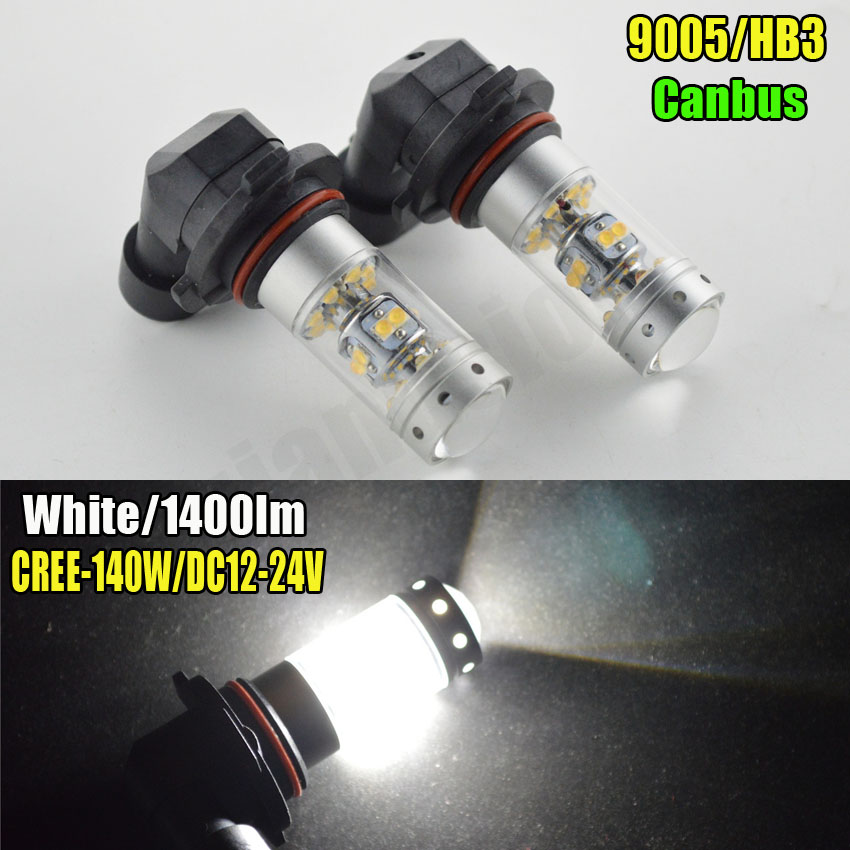 2 PCS H11 H8 H4 H7 LED H10 HB3/9005 HB4/9006 LED High Power 28SMD LED Bulb Daytime Running Light Fog DRL Lamp 12V 24V 1400LM