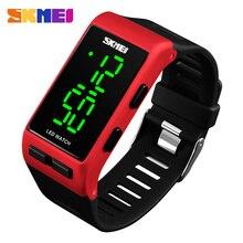 SKMEI Women Digital Watch Fashion LED Electronic Watches Luxury Sport Clock For Men Wristwatches Relogio Feminino