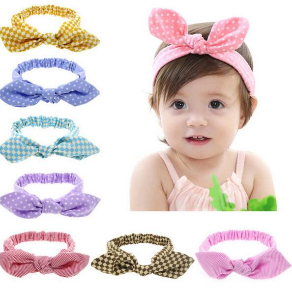 9 unids lote encantadora bowknot niños bebé Accesorios de pelo Pelo del  bebé banda Niñas headwrap algodón mezcla arco diadema 7372902399bf