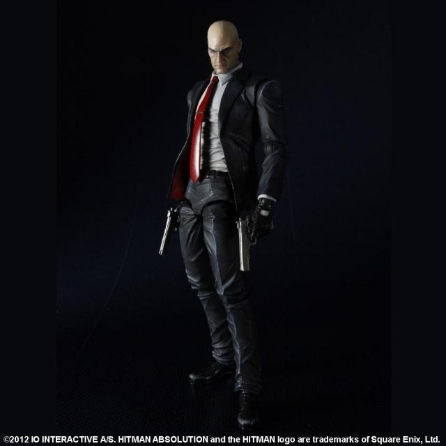 Play Arts Hitman Killer Agent 47 Action Figures Collection Model Toy 23cm image