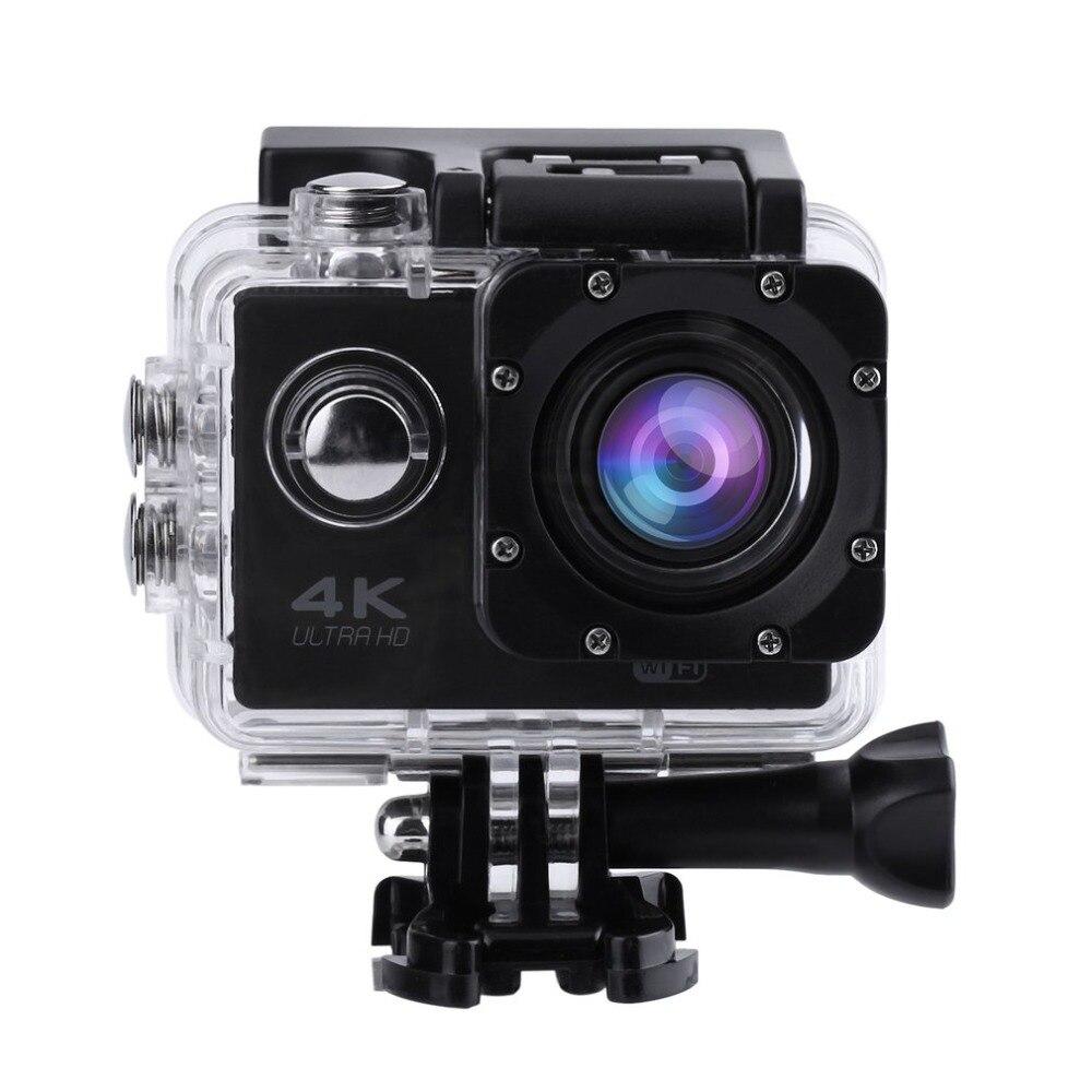 SJ60 étanche 4 K Wifi HD 1080 P Ultra sport Action caméra DVR Cam caméscope casque DV caméra avec étui de transport avec écran LCD