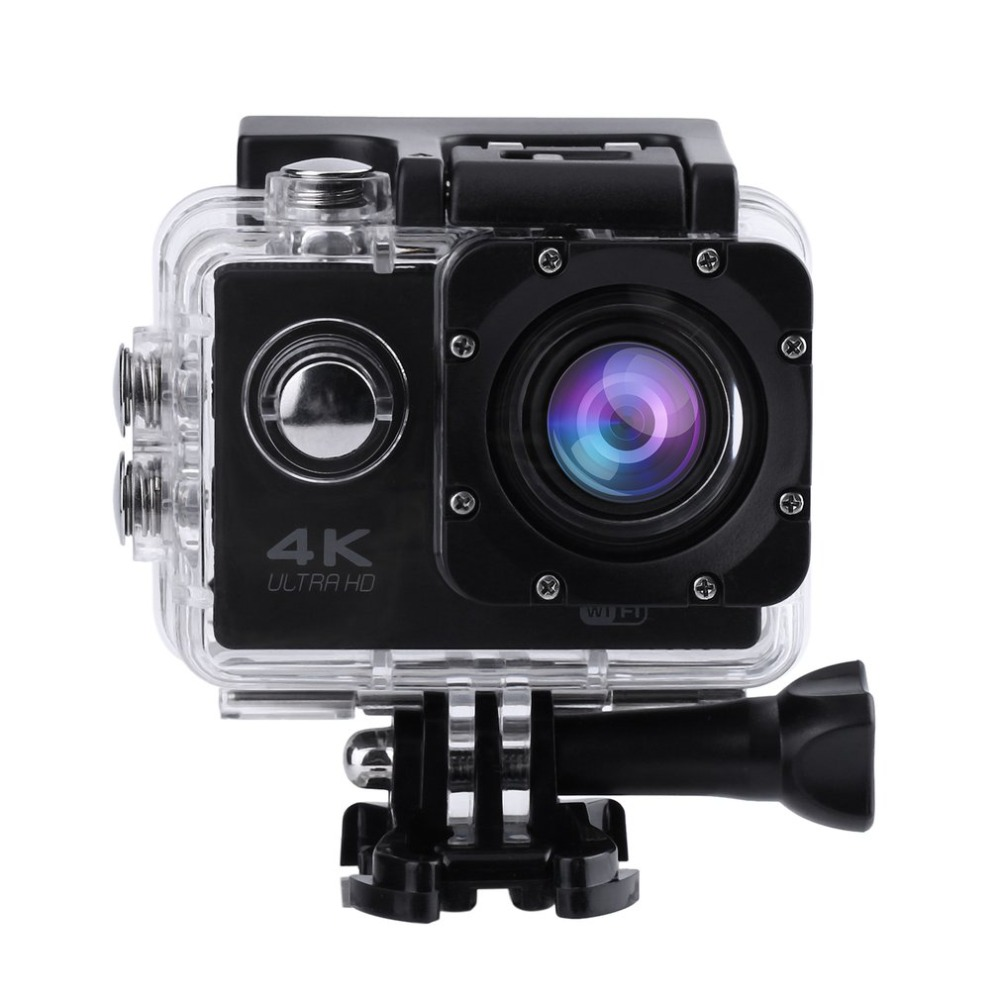 SJ60 Waterproof 4K Wifi HD 1080P Ultra Sports Action Camera DVR Cam Camcorder Helmet DV Camera with Carry Case with LCD Screen ...