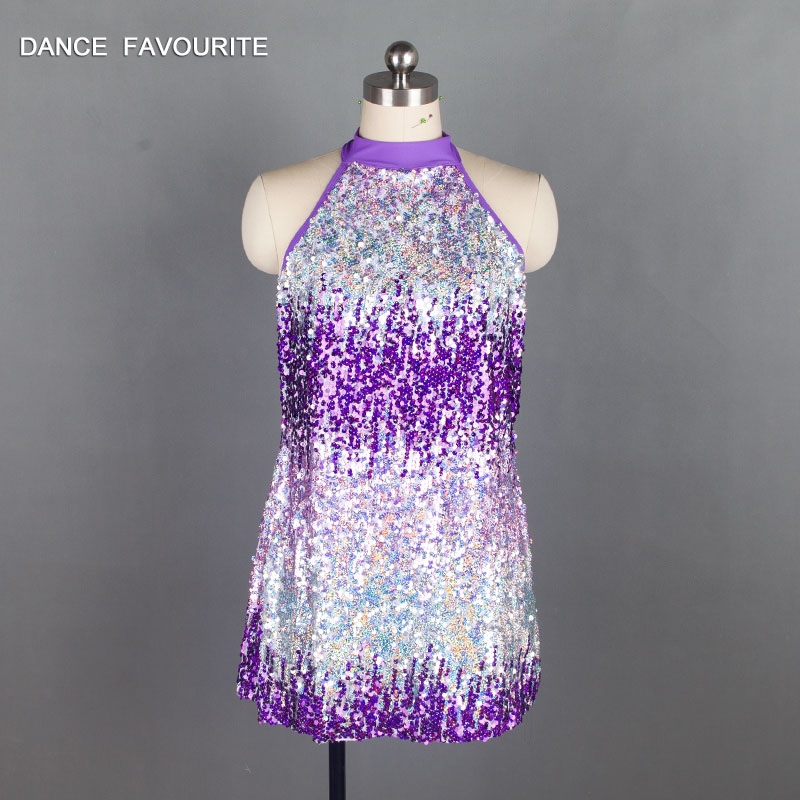 New arrival sequin Bodice Bikeshorts Jazz /tap dance costumes girl and women stage performance dance costumes