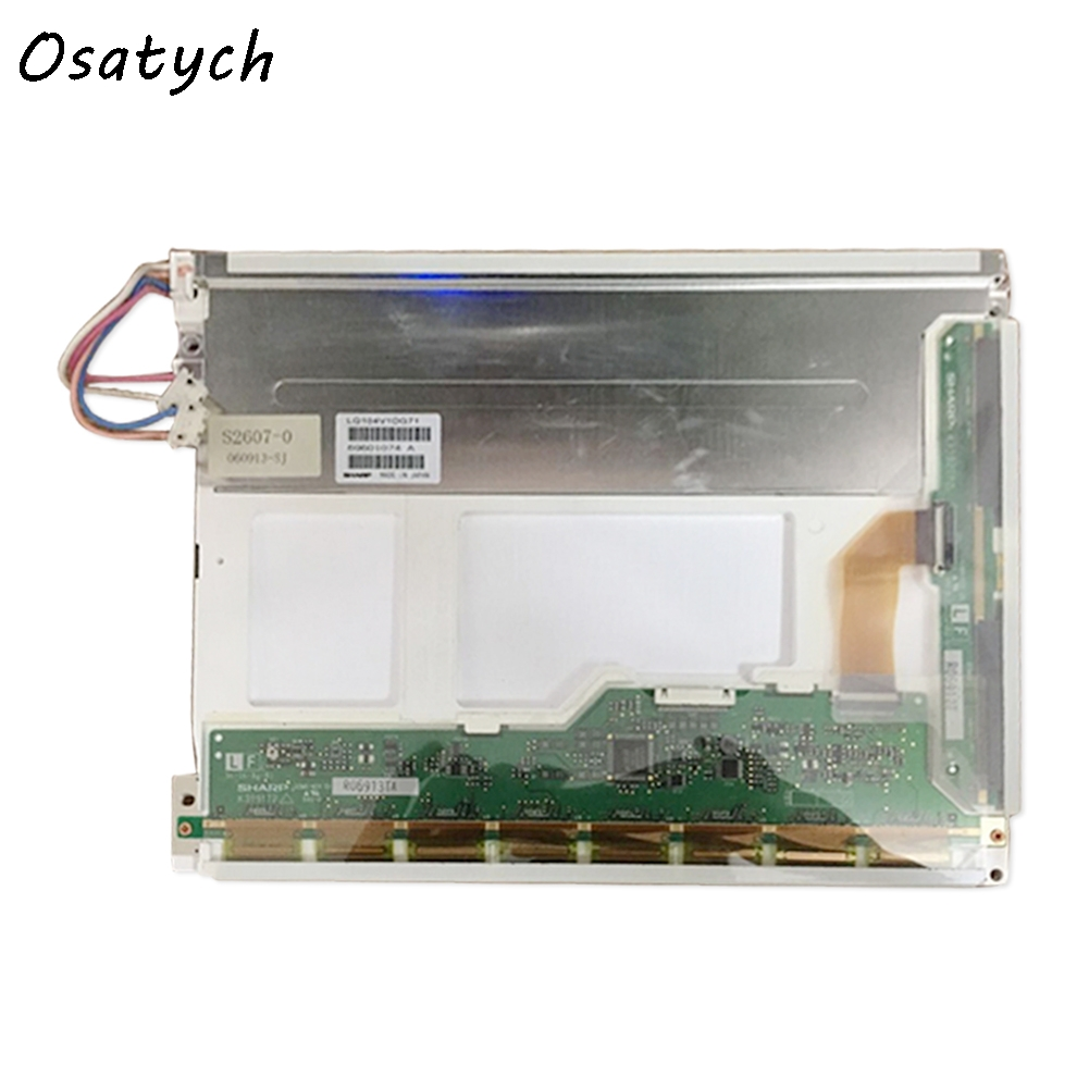 Used 10.4 inch LQ10D13K Original A+ Grade LCD Display for Industrial Equipment by 640*480 original lcd 40z120a runtka720wjqz jsi 401403a almost new used disassemble