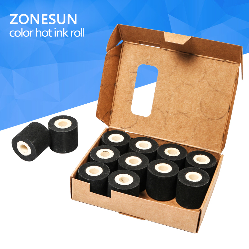 Free Shipping  Energy Saving Black Hot Printing Ink Roll for MY-380F, Good quality hot ink roll, black hot print rolls 12 roll декоративные стразы my mind s black