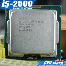 Processador para cpu lntel core i5 quad-core, processador para cpu 2500 quad-core (i5-2500 ghz/l3 = 6m/95w) soquete lga 1155 desktop cpu (trabalho 100% frete grátis)