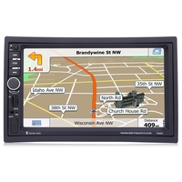 7020G 7 Inch 1080P Car Audio Player MP5 Player Bluetooth Call GPS Navigation Support Steering Wheel