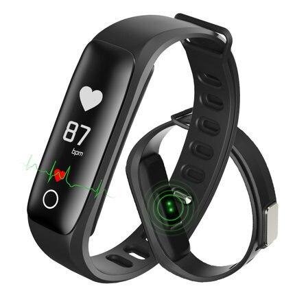 Sphygmomanometer Waterproof Blood Pressure monitor Heart Rate Sleep Monitor Fitness Sport Bracelet Smart APP Wristband Smartband