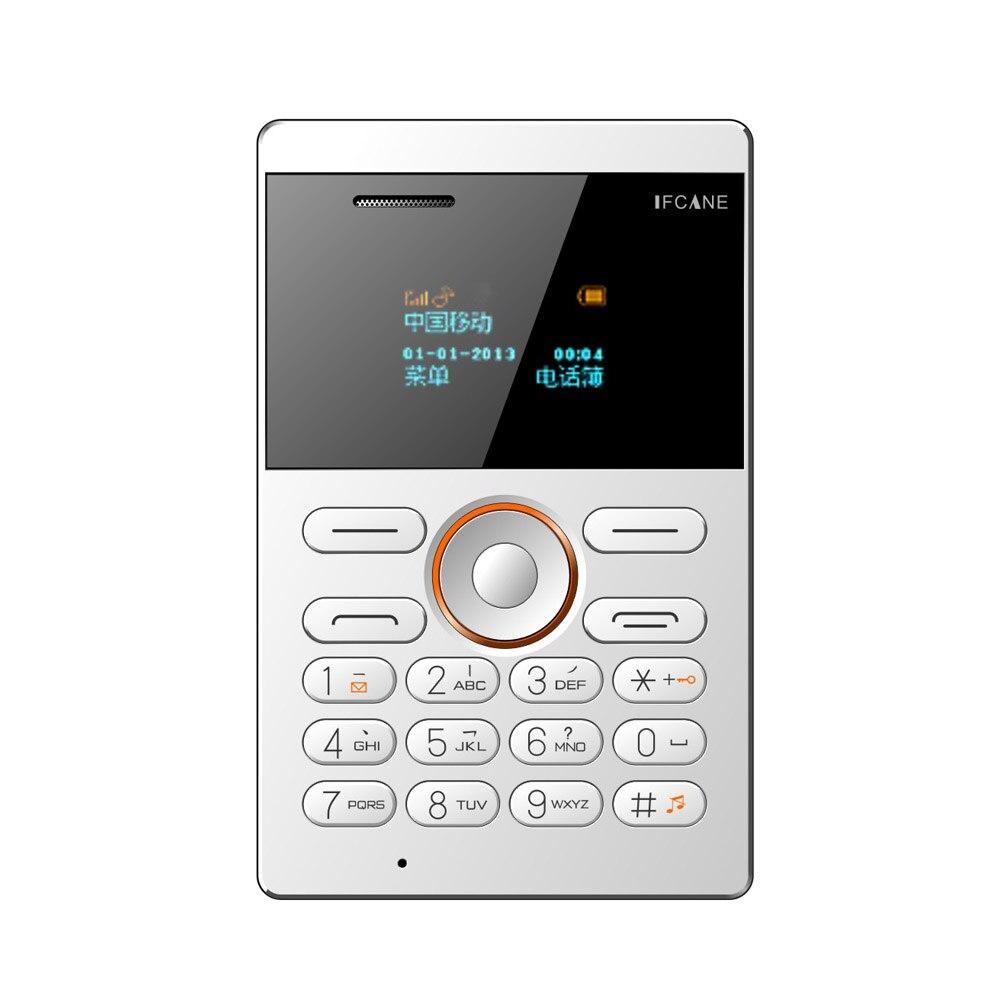 Ifcane E1 Fm Radio Mp3 Vibration Small Russiangermanfrench Italian Italianarabic Ultrathin Card Mini Mobile Cell Phones In From