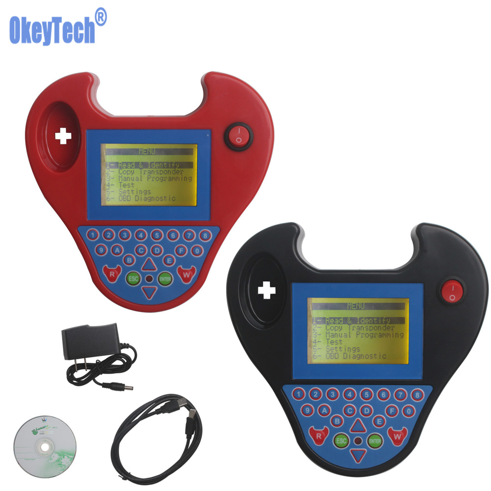 OkeyTech Pro Mini ZedBull V508 Auto Key Programmer Smart Zed-Bull  Transponder Programmer Key Clone Machine No Tokens Limitation