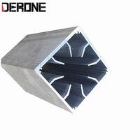 8 cm ventilador de acasalamento túnel vento amplificador potência do radiador dissipador calor refrigeração ar radiador alumínio frete grátis