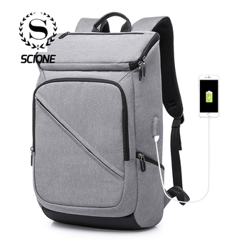 New Arrive Men Fashion Backpack USB Charging Multi-function Casual Laptop Bags Simple Travel Bag For Women Boys Student School