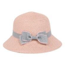 4b53a44184519 2019 verano sombrero gorra 5-8 años los niños arco de Bohemia sombreros de Playa  Sol sombrero Cuenca gorras Snapback gorra Hombr.