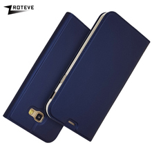 цена на ZROTEVE For Samsung A7 2017 Case PU Wallet Case Coque For Samsung Galaxy A7 2017 Leather Stand Flip Cover Case For Galaxy A720