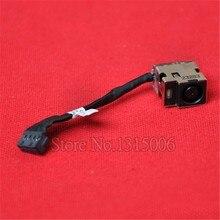 Gniazdo zasilania DC wtyczka do wiązki przewodów w kabel do HP 1000 1000-1118TX zasilania złącze do gniazda Jack ładowania wtyczki w Port