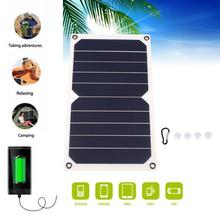 MVPower Flexible Solar Panel 5V 5W 1A Solar Power Bank Charger For Smart Phone Monocrystalline Solar Panel