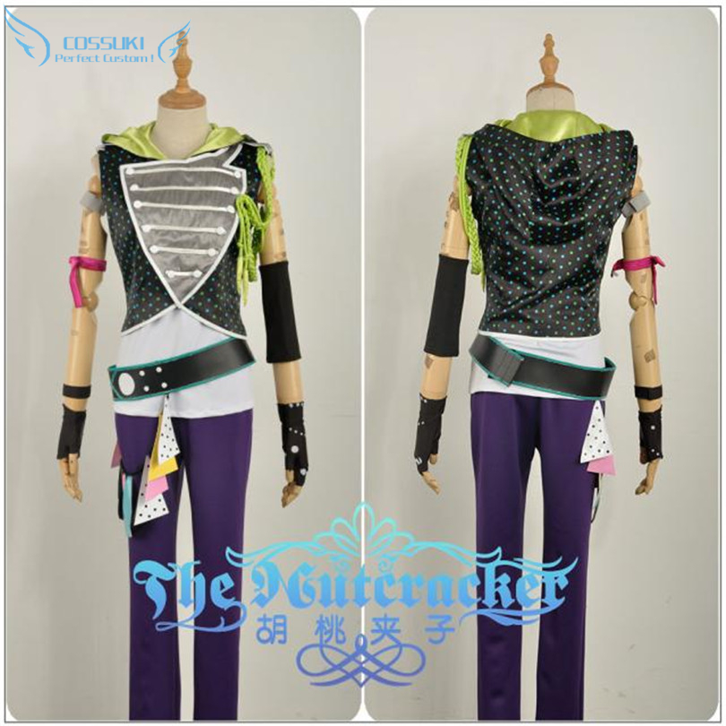 B project Ashu Yuuta Cosplay Costume Stage Performence Clothes Perfect Custom for You