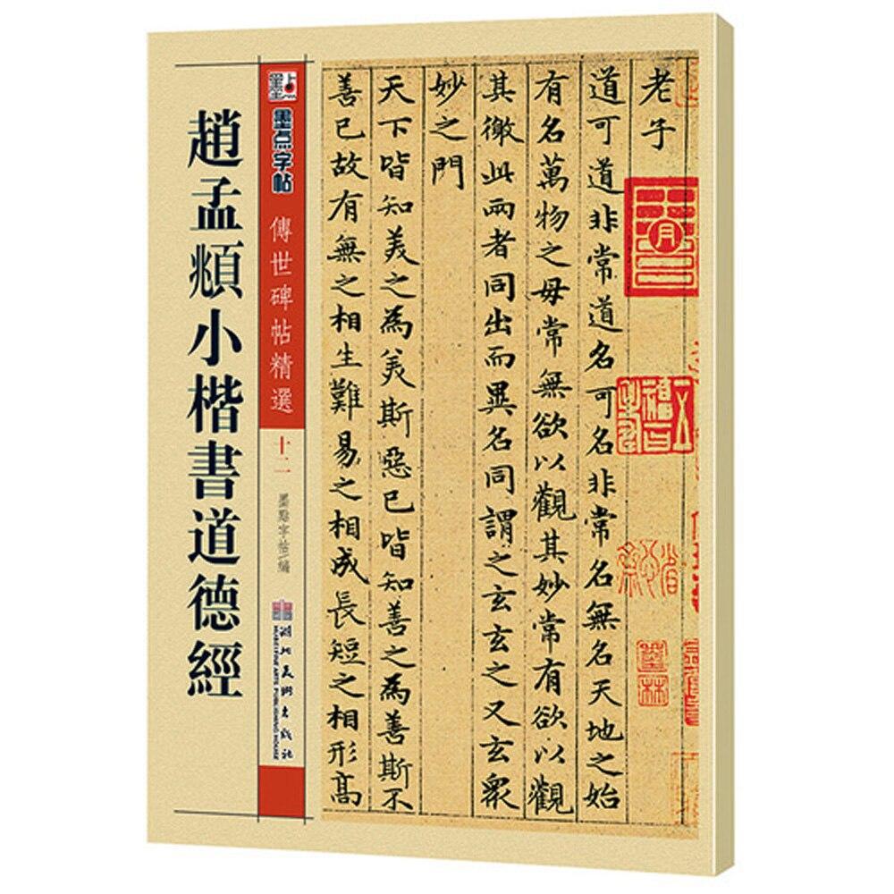 Chinese Calligraphy Book Zhao Mengfu Xiaokai Small Regular Script Tao Te Ching 48 Page