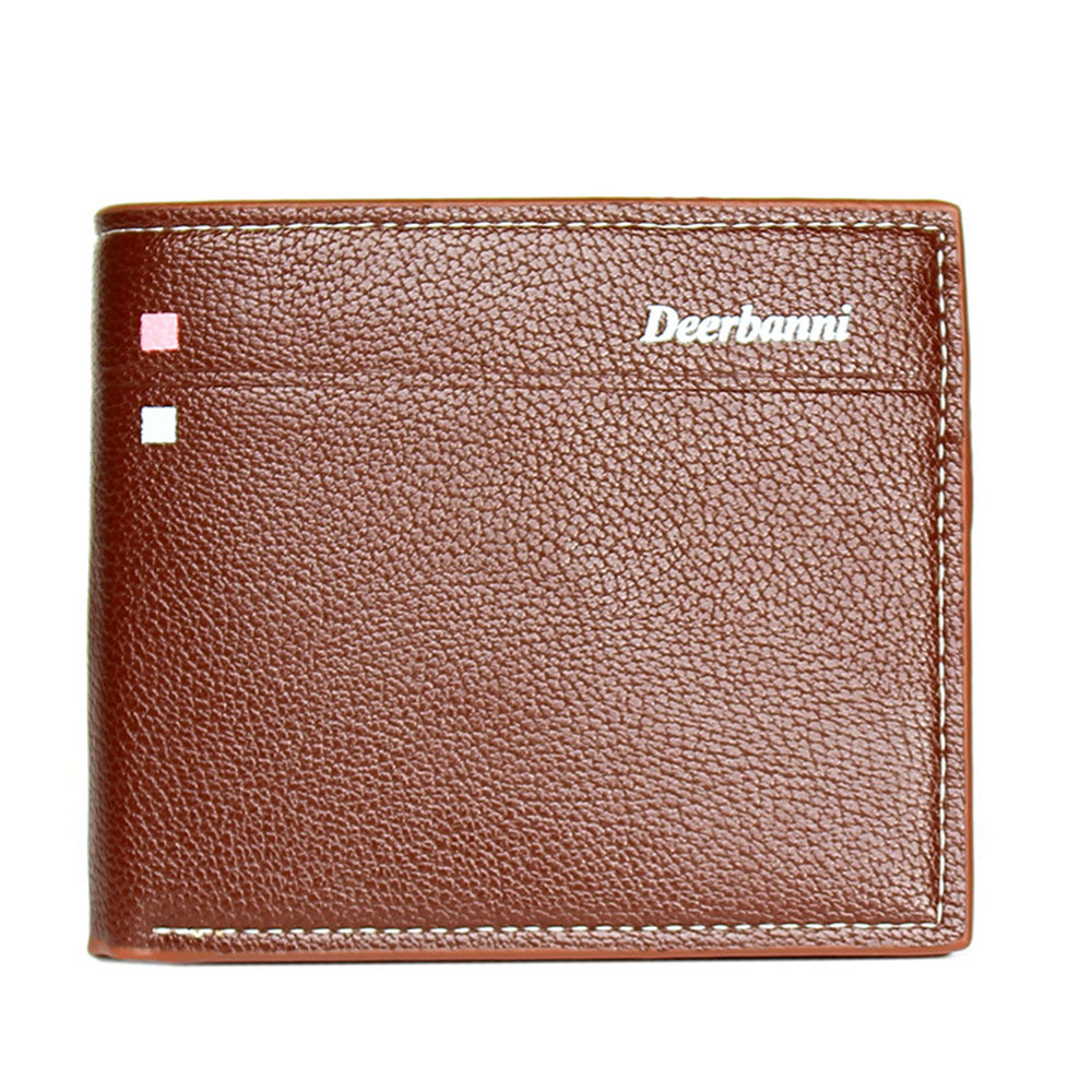PU Leather Wallet For Men Small Thin Card Holder Slim Wallet Mini Zipper Coin Purse Brief Design Solid Mens Business Card Holder