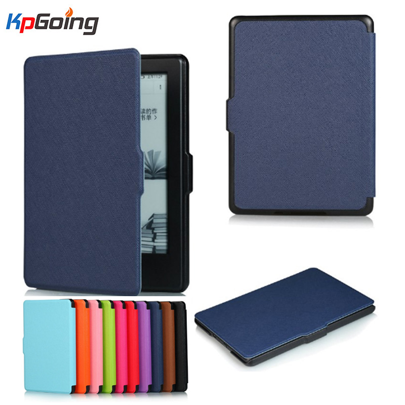 Fashion Business Flip Leather Case Cover for New Kindle 2016 8th Generation Fundas for Amazon Kindle 8 Generation 2016 Cases