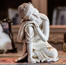 2015 Chinese seated Buddha sculpture resin ornaments creative living room resin decorations tuck den office resin Crafts