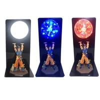 Dragon Ball Goku Strength Bombs Creative Night Lamp LED Bedroom Decorative Table Lamp Kid Gifts Lighting In 110V 220V EU US Plug