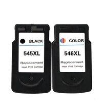 PG-545 CL-546 Ink Cartridge For Canon PG545 CL546 PIXMA IP2880 IP2850 MG2400 MG2450 MG2500 MG2550 MG2580 MG2950 MX495