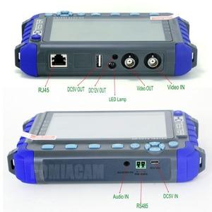 Image 3 - 전문 cctv 보안 테스트 도구 iv8c 5 인치 tft lcd 5mp ahd tvi 4mp cvi cvbs cctv 카메라 테스터 모니터 지원 ptz utp