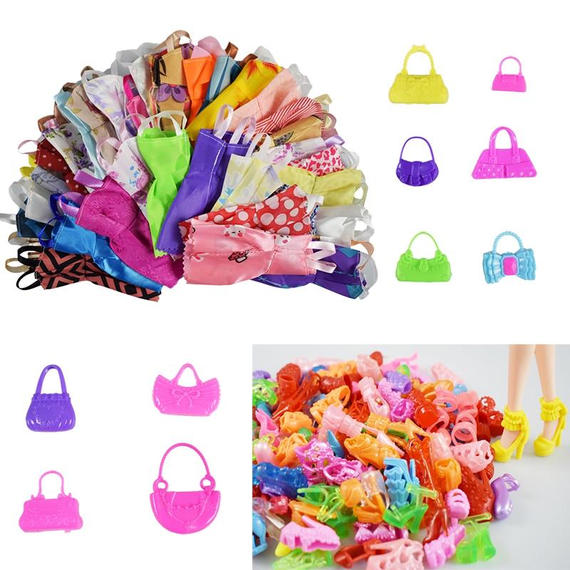 25 kirje / komplekt tarvikud = 10 tk Mix sorteerib ilus nuku riie - Pehmed mänguasjad