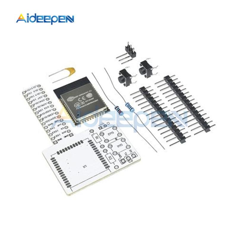 1 комплект ESP-32 ESP-WROOM-32 Rev1 wi-fi модуль беспроводной Bluetooth макет модуля DIY Kit развитию для Arduino