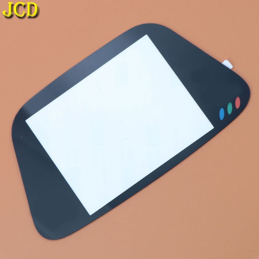 Image 2 - JCD 1PCS Black Glass Screen Lens Protective Cover For Sega Game Gear Replacement Screen Protector GG Lens-in Replacement Parts & Accessories from Consumer Electronics