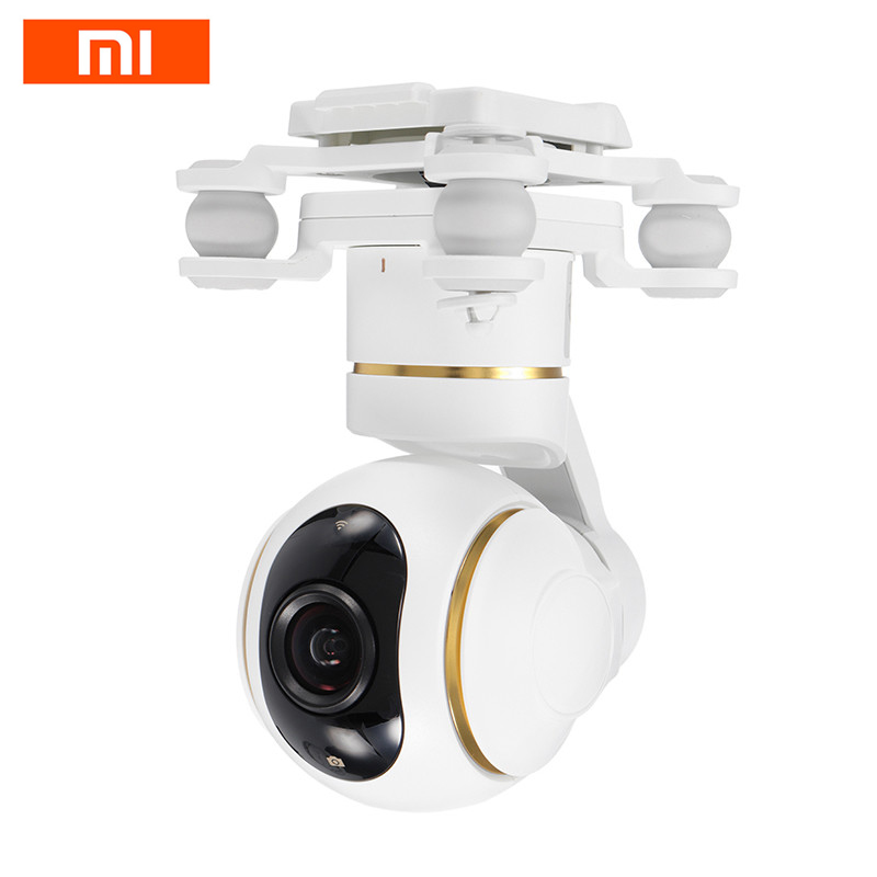 Original Xiaomi Mi Drone RC Quadcopter Spare Parts 1080P / 4K Gimbal HD Camera For RC Drone Multirotor Replace Accessories new arrival xiaomi mi drone rc quadcopter spare parts 17 4v 5100mah battery